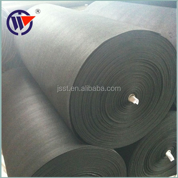 activated carbon felt, nonwoven felt