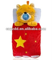 hot water bottle animal plush cover