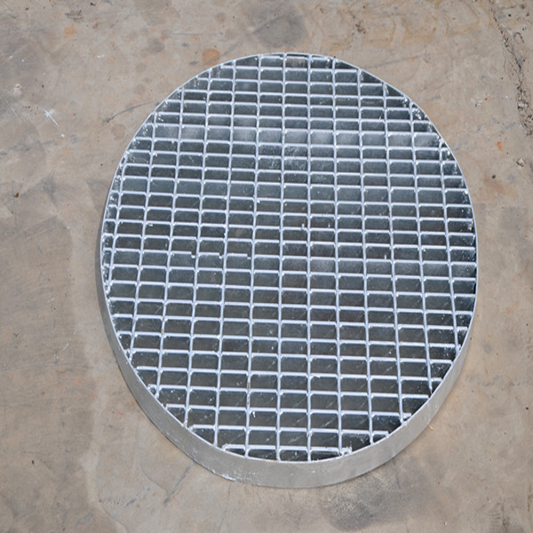 Galvanized industrial anti skid steel grating