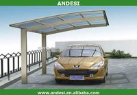 High quality pergola Carports with PC sheet