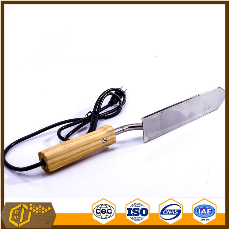 Best quality beekeeping tool stainless steel elecrtic uncapping hive tool uncapping knife
