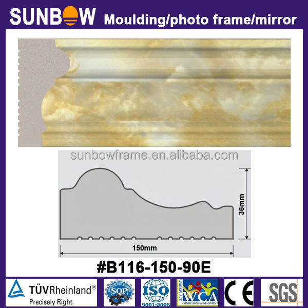 high quality ceiling cornice design decorative marble moulding