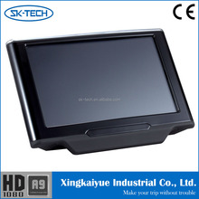 10.1 inch capacitive touch screen android 4.2.2 digital headrest tft lcd monitor with AV input for universal