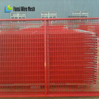 Durable And Practical Steel Temporary Fence