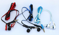 Professional Mini mini SMS Street by 50 Cent Street with MIC and Volume Control Earphones for MP3 Player iPhone