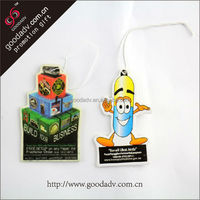 renuzit air freshener 2014 custom design and shape promotional hemp air freshener paper