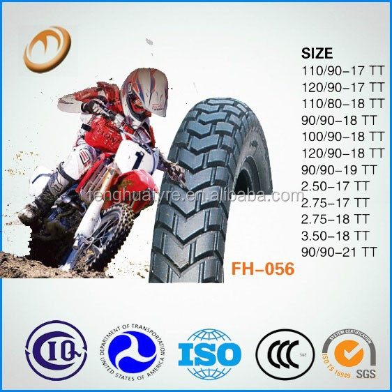 Popular size off road tire motorcycle tyre 100/90-18