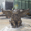 home garden resin craft fiberglass fly lion sculpture