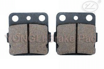 wholesale motorcycle disc brake pads AC037 for HONDA-ATC 250 /TRX 250/TRX 420;KAWASAKI-KX 80/KX 100/KVF400/KFX 450/KSF 250 AC037