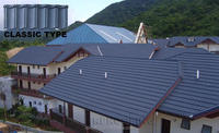 Professional classic stone chip coated metal roof tile,roofing shingle with low price