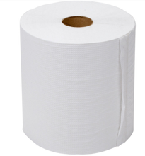 White Bamboo Soft 2 Ply Center Feed Pull Hand Roll Paper Towels
