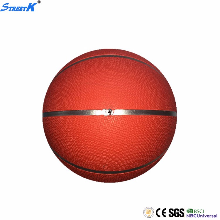 STREETK brand wholesale 1kg rubber medicine ball