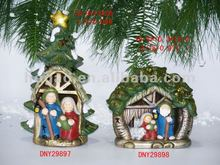 Polyresin Nativity Set(Manger), Nativity,Religious Craft