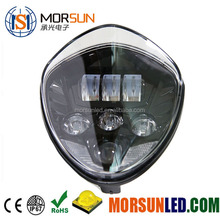Morsun newest LED Headlight, high quality Cross Country Led Headlight Fit for Polaris Victory Motorcycle