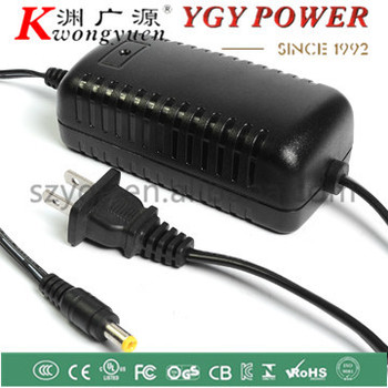 36w power adapter for LED , open frame power supply for cctv camera