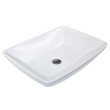 Eco-Friendly Countertop Rectangle Household Ceramic Sanitary Ware