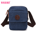 Cheap plain canvas bike messenger bag wholesale mini college student shoulder bag