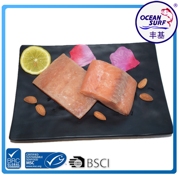 High Quality Frozen Pink Salmon Fillet Portions