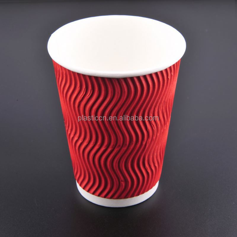 6.5oz paper cups/ 8oz ice cream paper cup/ ripple paper coffee cups