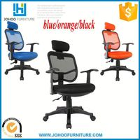 Cheapest price mid back ribbed management ergonomic office chair foshan factory