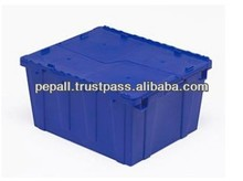 High Quality Blue Color Plastic Tote Box for Sale