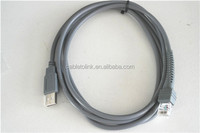 USB Cable Compatible for Motorola Symbol LS2208 CBA-U01-S07ZAR 10FT 3M Straight