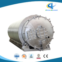 High Oil Yield Used Tyre Pyrolysis Equipment with 10 Tons Daily Capacity