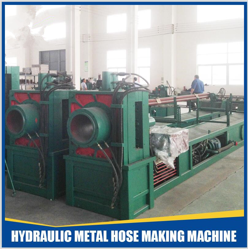 stainless steel corrugated flexible metal hose/pipe making machine