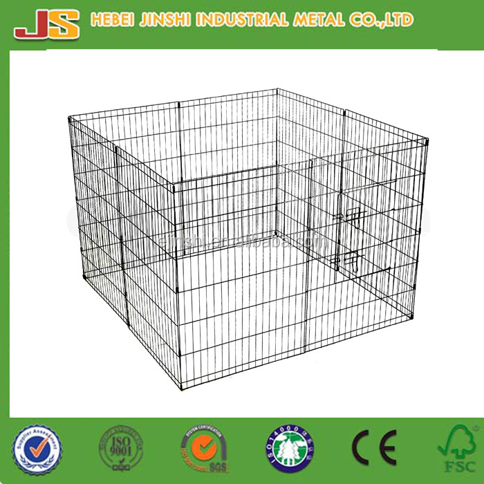 Wire Mesh Crate Fence Puppy Dog Kennel/Metal Puppy Dog Playpen