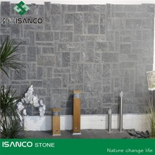 China Blue Limestone Tiles stone Wall Cappings Limestone Wall Coping Tiles natural bluestone wall cladding tiles