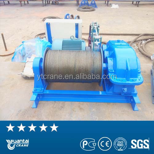 Factory direct fast line speed electric winch price