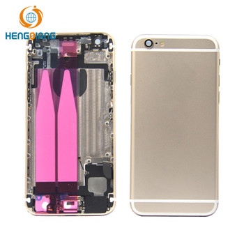 Full Back Housing Cover Battery Door Case Assembly For iPhone 6