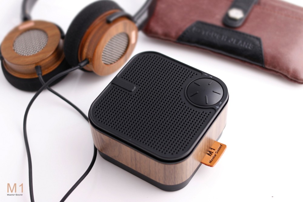 Hand Made Personalized wooden HIFI bluetooth Speaker