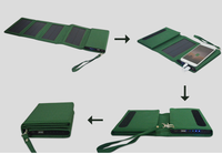 Hot sell solar panel foldable folding monocrystal solar charger
