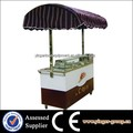 hot sale stainless steel mobile fast food truck for crepe maker sale