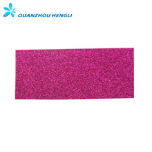 Factory 100% PU synthetic leather glitter leather fabric for shoes,bags