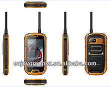 4.3inch with PTT IP 67 waterproof Android 3G 4.2 mobile phone