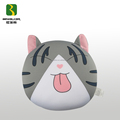 Silk Screen Printing Funny Big Cat Toy Within Bead Inside