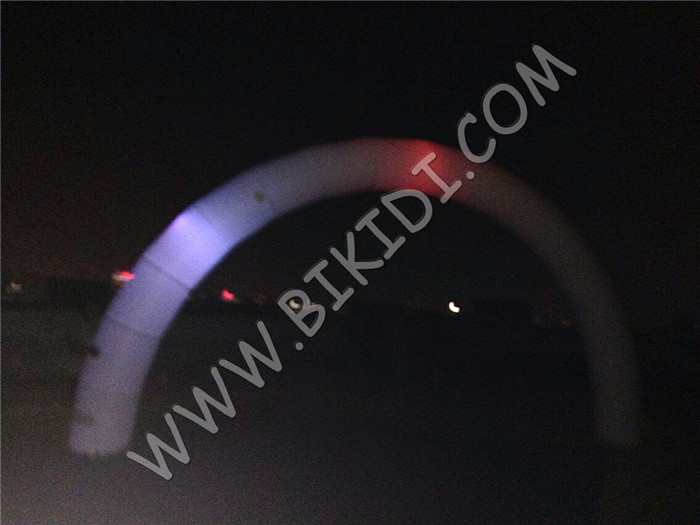Factory price cheap inflatable light arch, inflatable arch with LED light