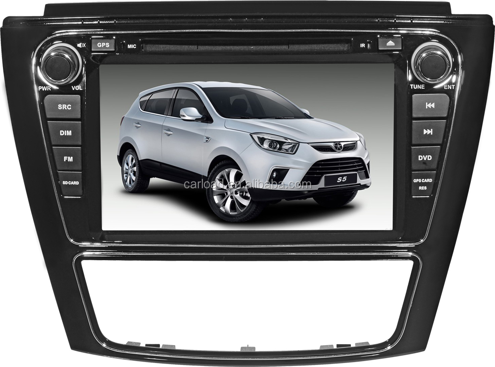 Wince 2 din car dvd with gps for Jac S5