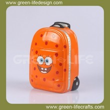 Ceramic luggage carrier Coin collection box