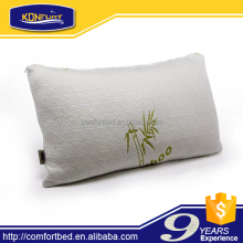 shredded memory foam bamboo fabric pillow