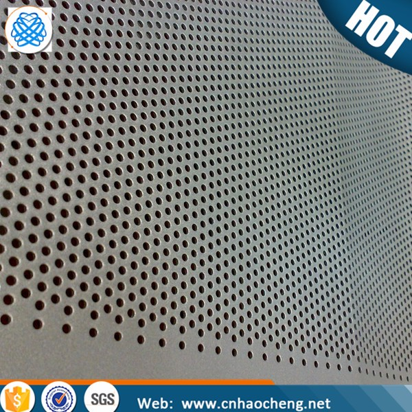 2mm stainless steel perforated aluminum mesh screen sheet