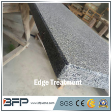G654 Padang Dark Granite Window Sill with Flamed Surface & Bevel