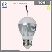 7w led bulb negative Ion Air Purifier bulb 7W high quality China led light manufacturer 3 years warranty CE,ROSH Approved