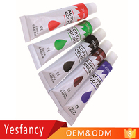 cheapest OEM logo 12ml non toxic bright colors acrylic paints hand drawn nails clothes acrylic color paints