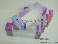 2013 new style clear acrylic favor box, clear storage boxes,screen printing box