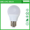 Sound and light control palstic 7w bulb AC85-265 led CE ROHS Epistar bridgelux high lumen