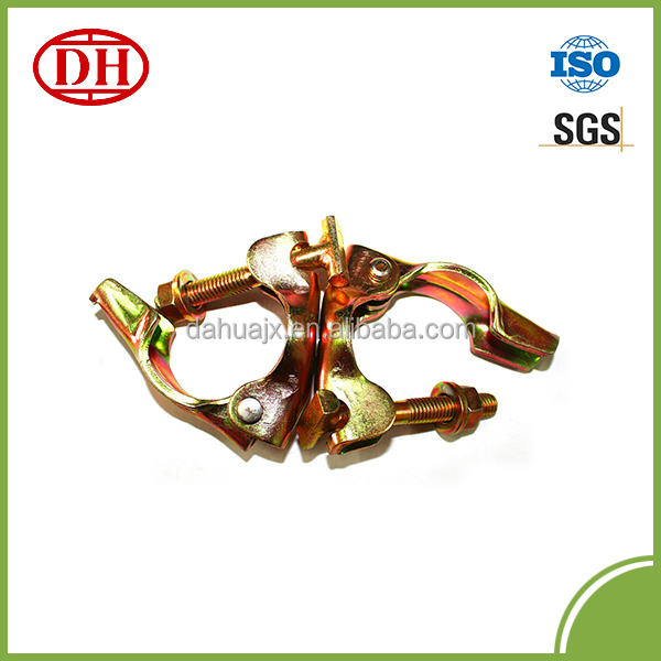 Galvanized swivel coupler with T-bolt DHBS-S002