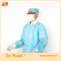 disposable surgical clothes with head cover
